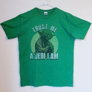 Star Wars Yoda T-shirt size L